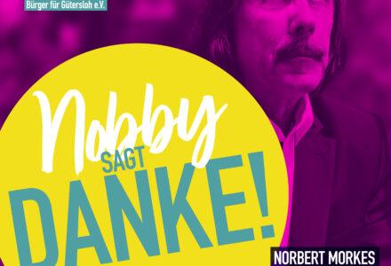 29. September – NOBBY SAGT DANKE