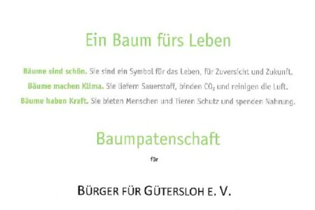 Baumpartnerschaft BfGT
